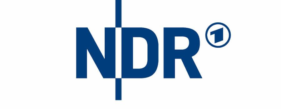 blaues NDR Logo