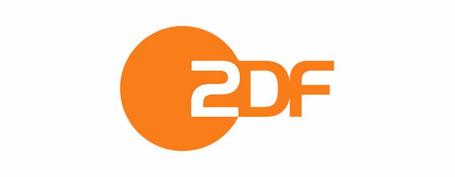 orangenes ZDF Logo